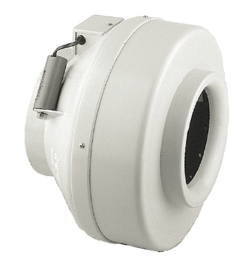 RK 125 L tichý plastový ventilátor