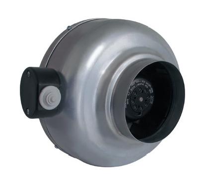 RM 125 NK radiální ventilátor kovový