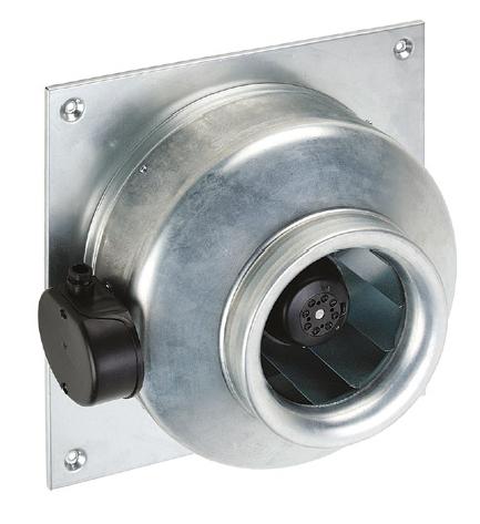RMQ 250 N nástěnný radiální ventilátor