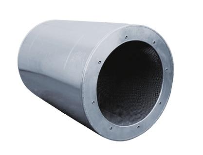 SCZ 710 L10 tlumič hluku pro axiální ventilátory
