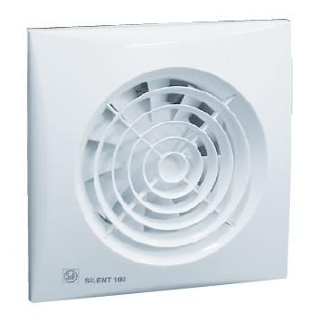 SILENT 100 CZ Ecowatt malý úsporný axiální ventilátor