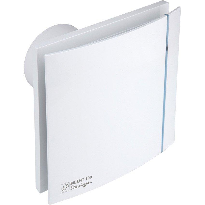 SILENT 300 CZ DESIGN Plus 3C tichý axiální ventilátor bílý