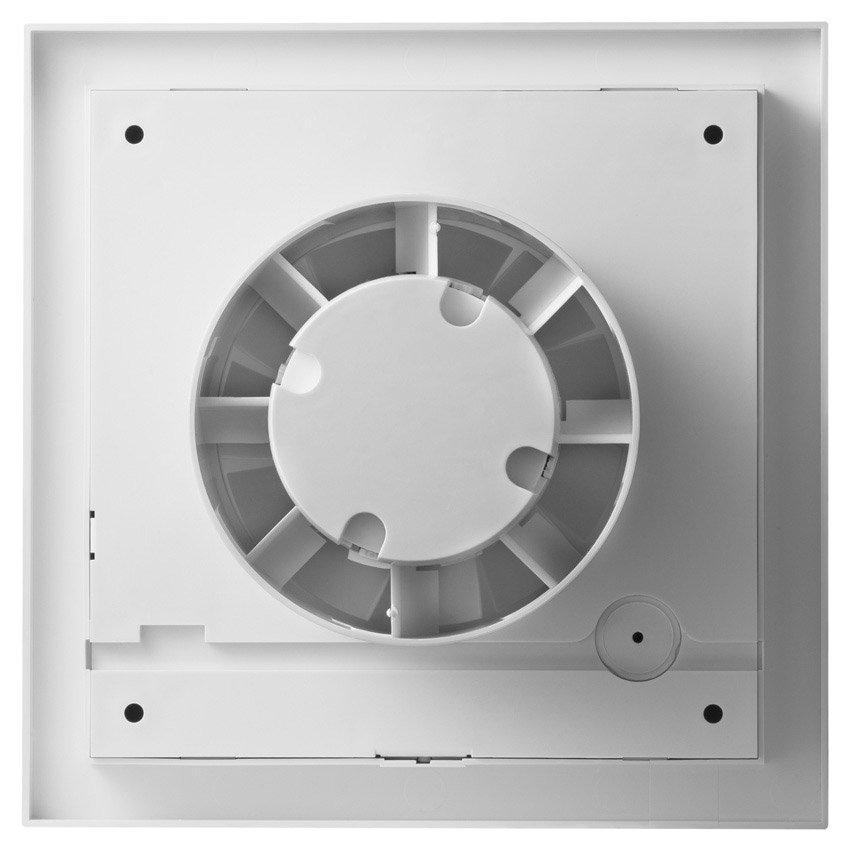 SILENT 300 CZ DESIGN Silver 3C tichý ax. vent. stříbrný