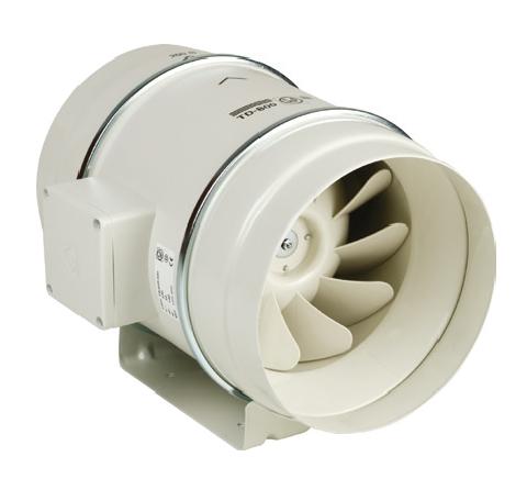 TD Mixvent 1000/250 3V IP44 tříotáčkový ventilátor