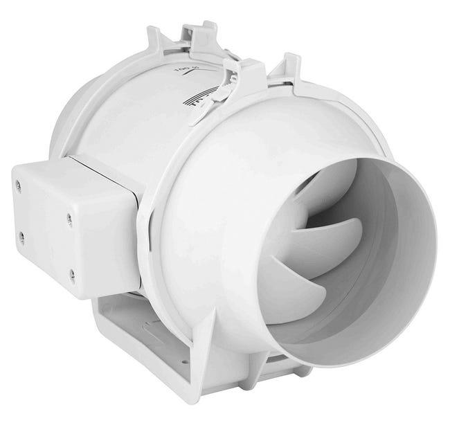 TD Silent 160/100 NT IP44 tichý potrubní vent. s doběhem