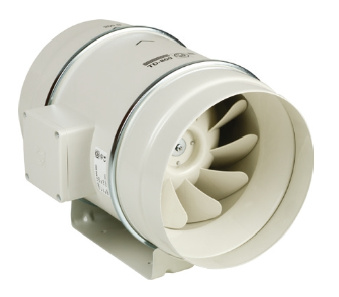 TD Mixvent Ecowatt 250/100 IP44 úsporný ventilátor