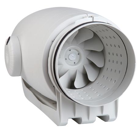TD Silent 250/100 T IP44 ultra tichý ventilátor s doběhem