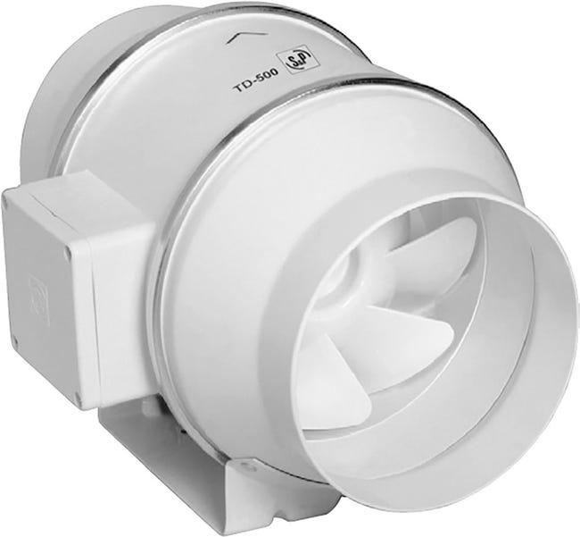TD Mixvent 500/150 T IP44 potrubní ventilátor s doběhem