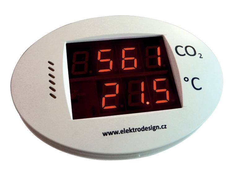 ED-ISCO2 detektor koncentrace CO2