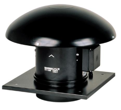 TH 1300/250 Ecowatt střešní ventilátor