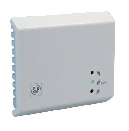 EDF-iVOC/RH-R kombin. prost. čidlo VOC a RH s přep. kont.