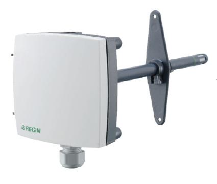 HTDT2500 kanálové čidlo relativní vlhkosti a teploty