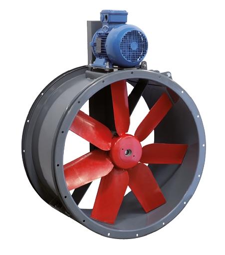 TTT/4-500 L N speciální axiální ventilátor 120°C
