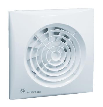 SILENT 100 CZ tichý malý axiální ventilátor