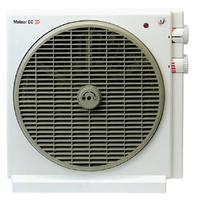 Meteor EC stolní axiální ventilátor s ohřívačem