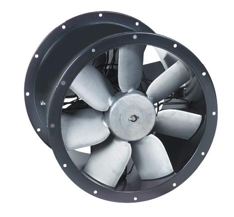 TCBBx2/4-450 axiální potrubní ventilátor