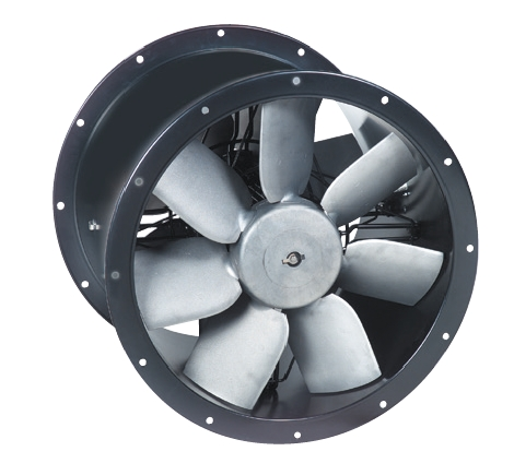 TCBTx2/4-630 axiální potrubní ventilátor