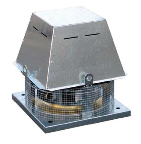 TCDH 020-4 Ex nevýbušný střešní ventilátor