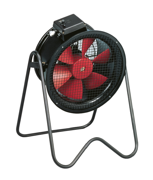 PBT/4-400 mobilní axiální ventilátor