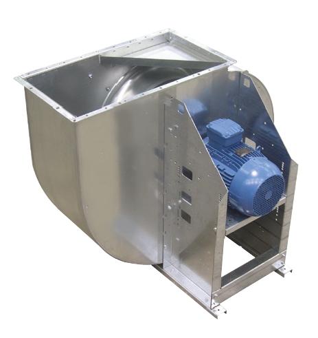 CXRT/2/4-400-4,5/1,1 radiální ventilátor