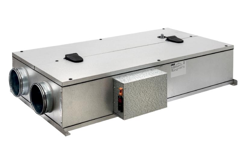 EHR 150 N Ekonovent EVOD-PH-IP SH bytová rekuperační jednotka