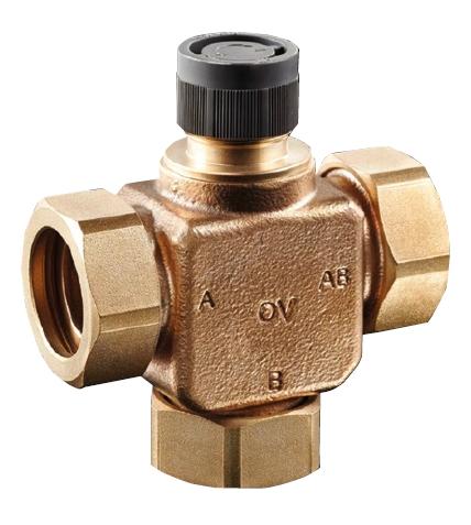 """Tri-CTR DN15 termostatický třícestný ventil 1/2"""""""