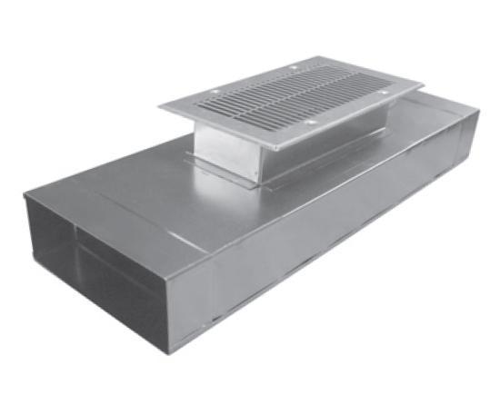 EDP-OV-200x50/500 krátký kanál s odbočkou