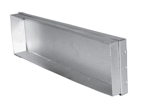 EDP-Z-110x50 záslepka na plochý kanál