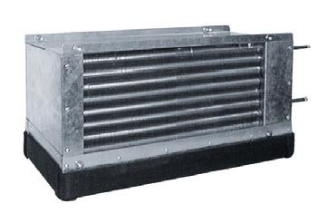 IKF 250 P freonový chladič, přímý výparník