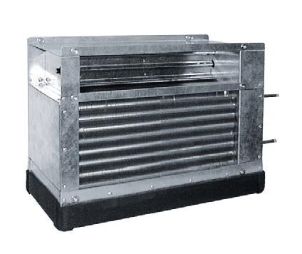 IKW 450 BP vodní chladič s obtokem