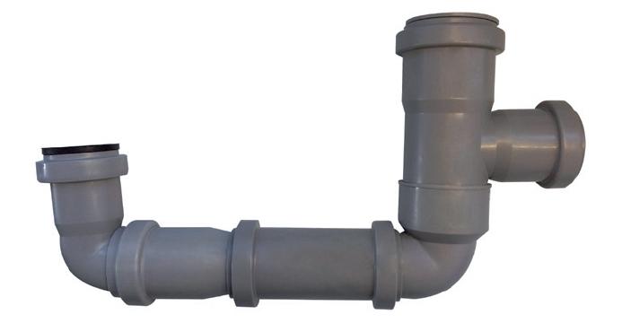 SF-P 300 sifon podtlakový s uzávěrem