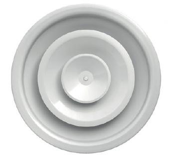 DRE-C 500 kruhový anemostat s nastavitelným kuželem