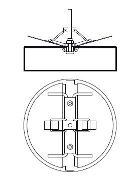 DRE-C-SF 200 zpětná klapka pro DRE-C