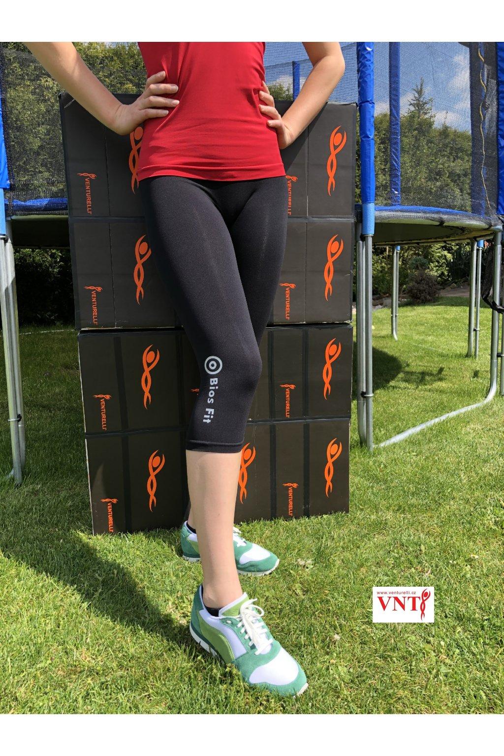 Legíny Venturelli černé Bios Fit