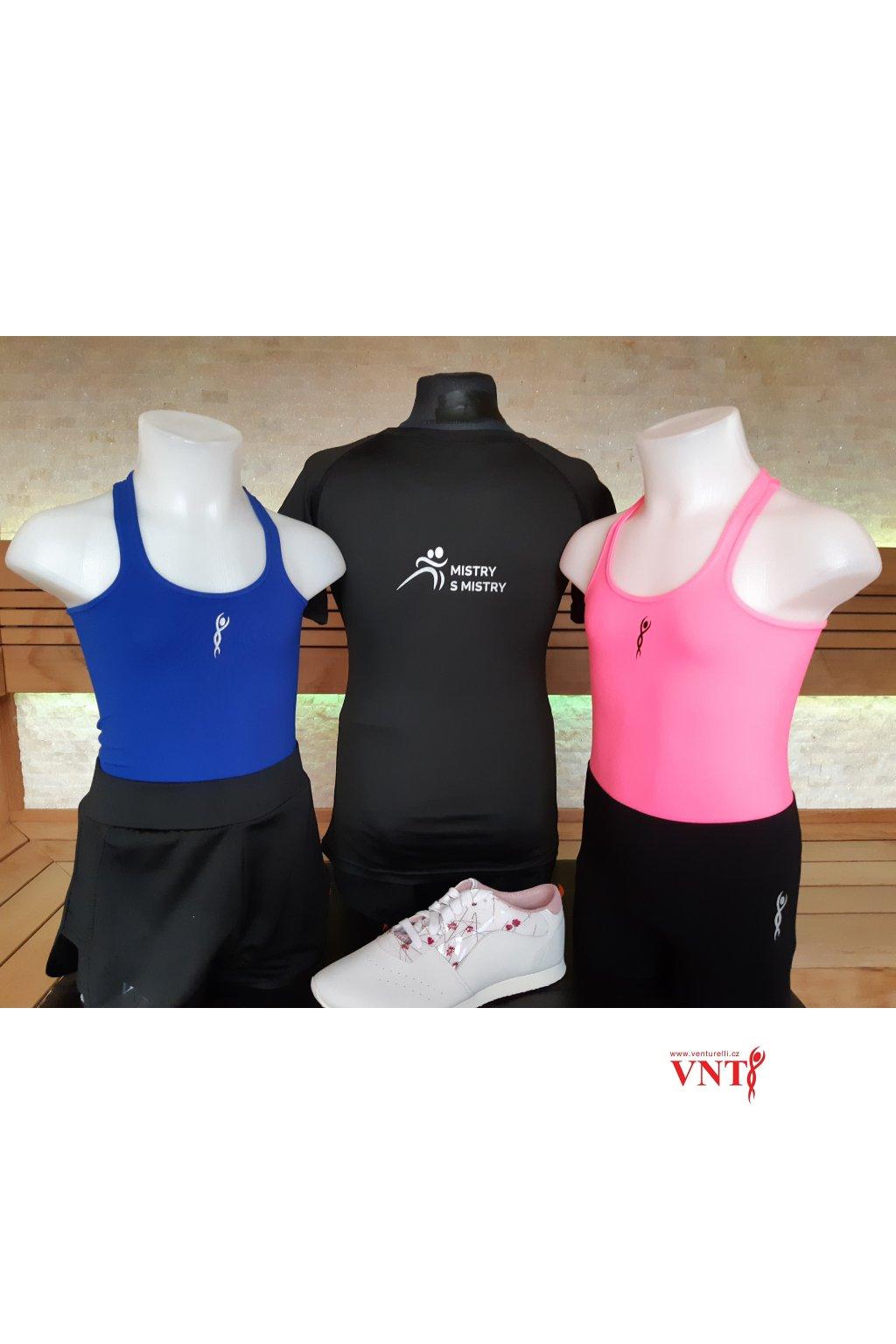 Tričko Venturelli černé MsM