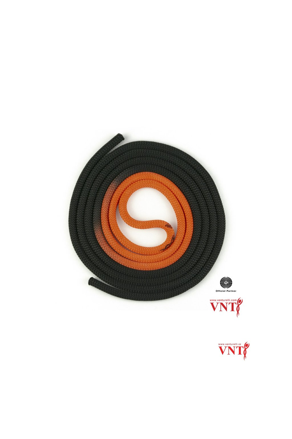 černá oranžová