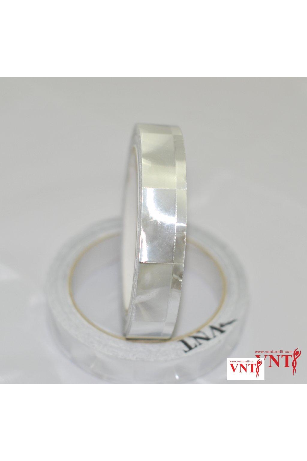 Izolepa Stříbrná optická čočka