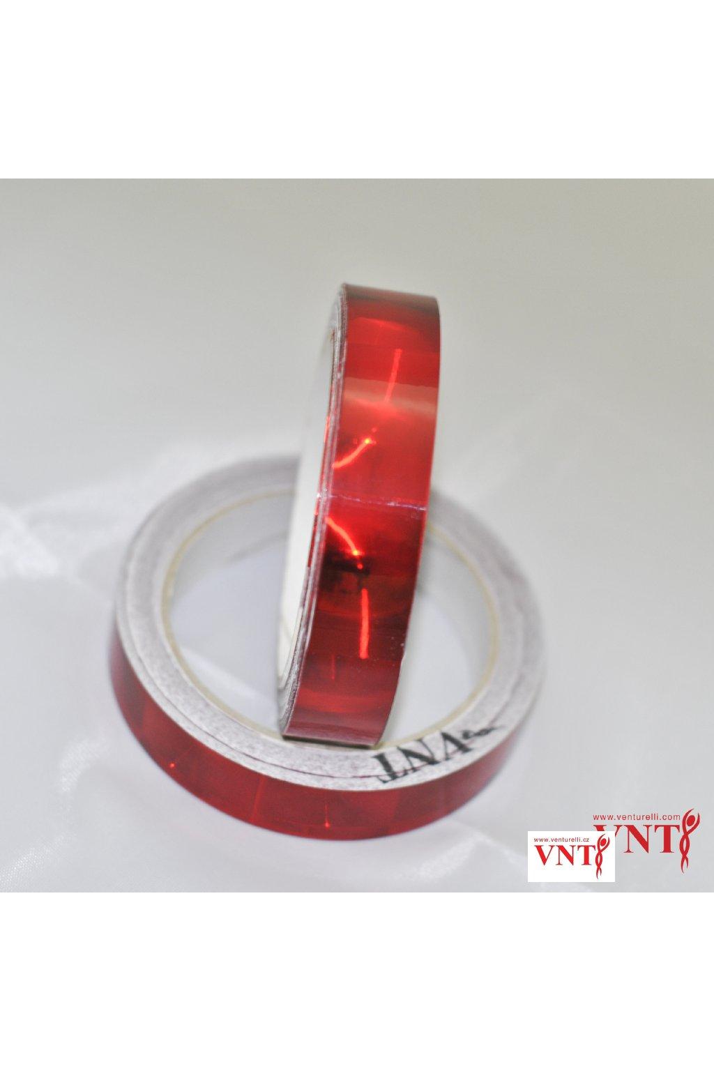 Izolepa Červená optická čočka