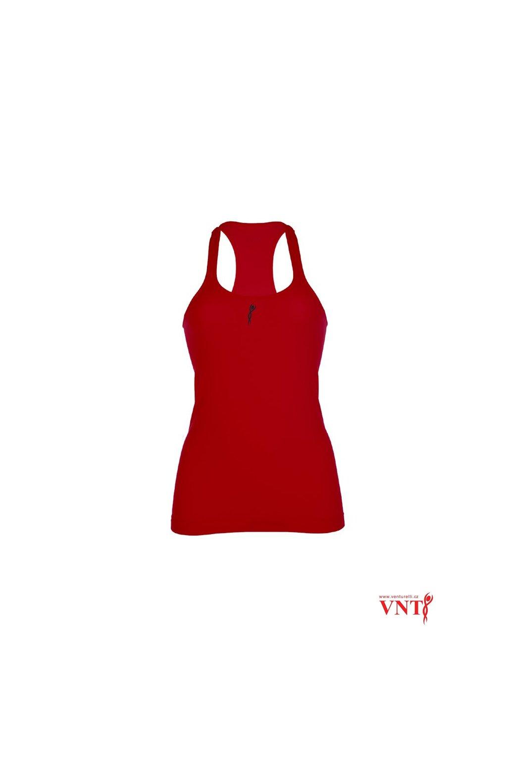 tílko venturelli červená přední 06CA16F16