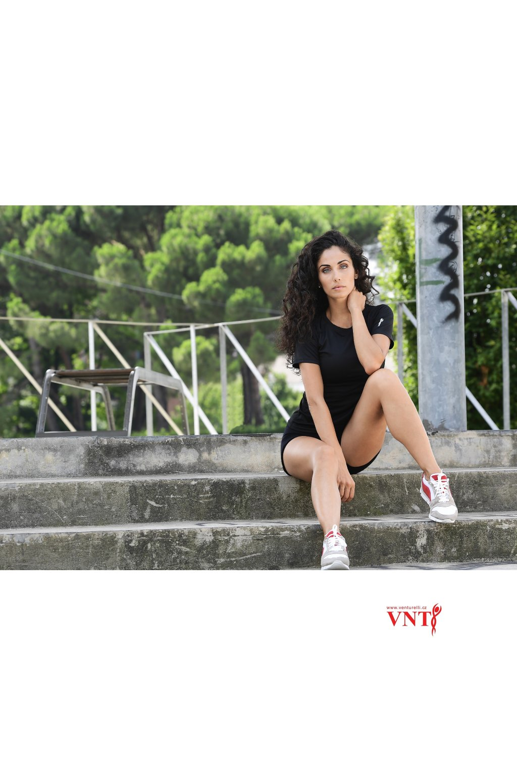 tričko kraťasy venturelli vnt černá image TSH1 002 06SH1602