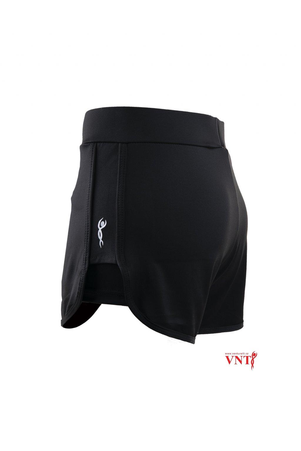 Šortky dvojité Venturelli černá boční SH1 00202