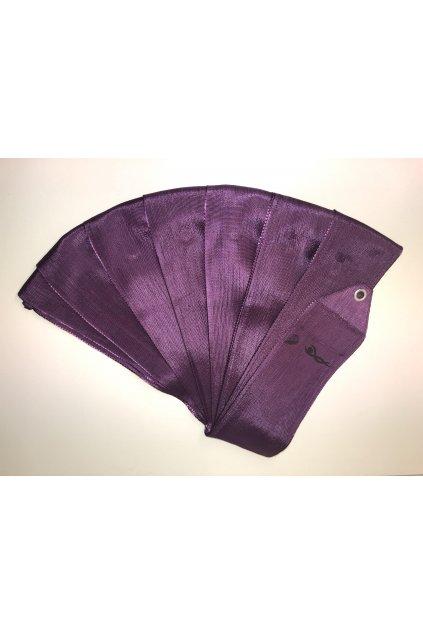 stuha fialová