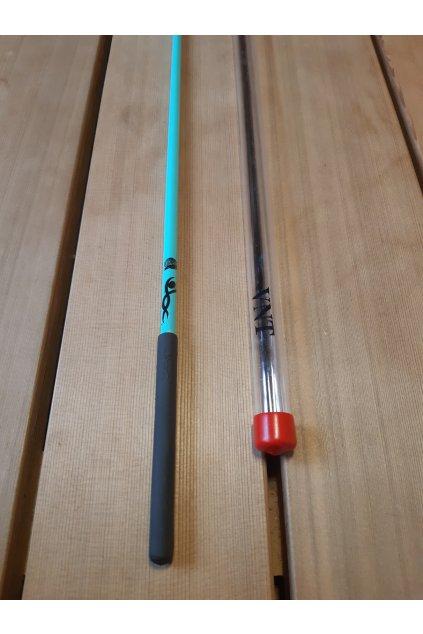 gymnastická tyčka akvamarín 2