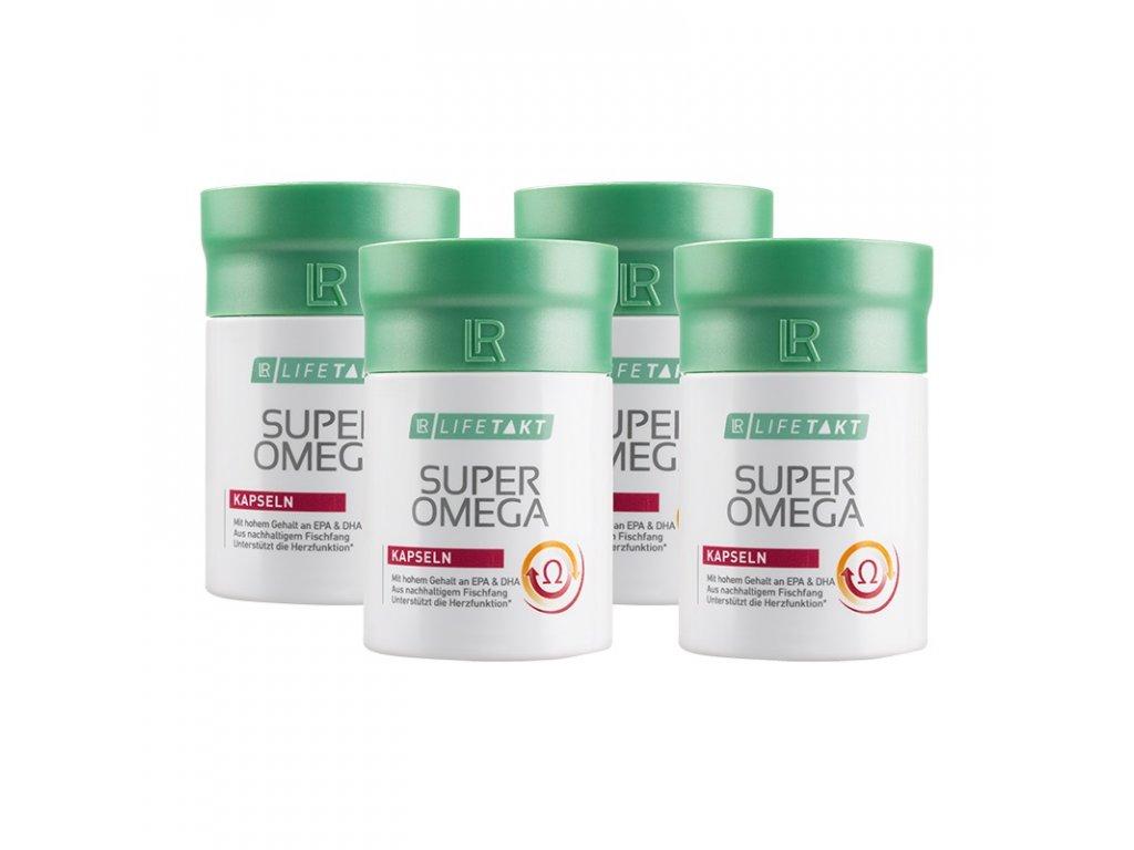 LR LIFETAKT Super Omega Kapsuly Séria 4 x 60 kapsúl / 100,8 g