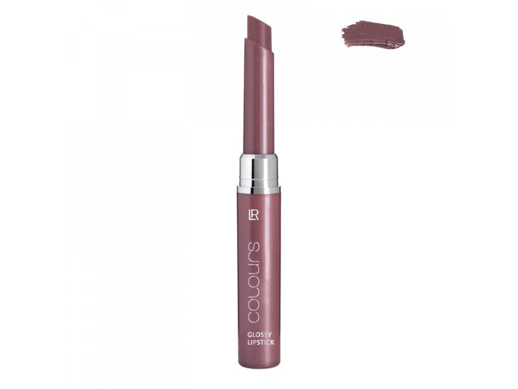 LR Colours Transparentný lesklý rúž (Crystal Mauve) 1,6 g