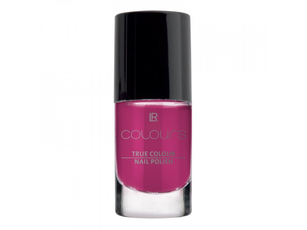 LR Colours Lak na nechty True Colour (odtieň Foxy Fuchsia) 5,5 ml
