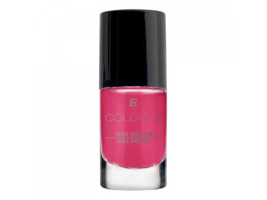 LR Colours Lak na nechty True Colour (odtieň Pink Flamenco) 5,5 ml