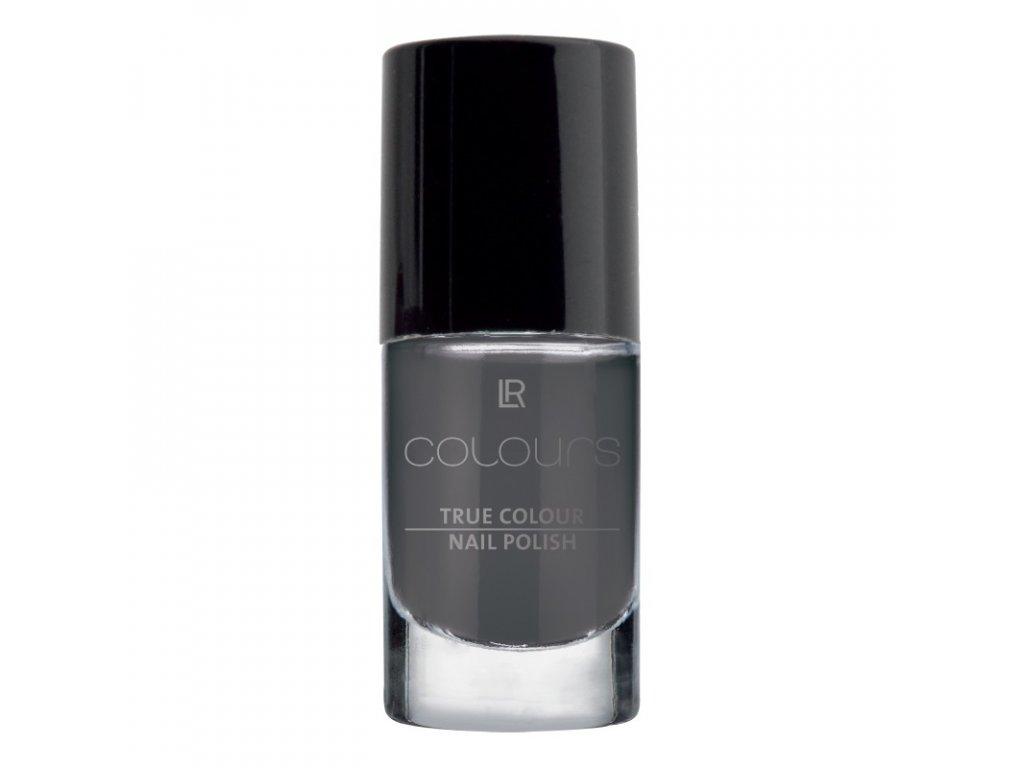 LR Colours Lak na nechty True Colour (odtieň Smoky Grey) 5,5 ml