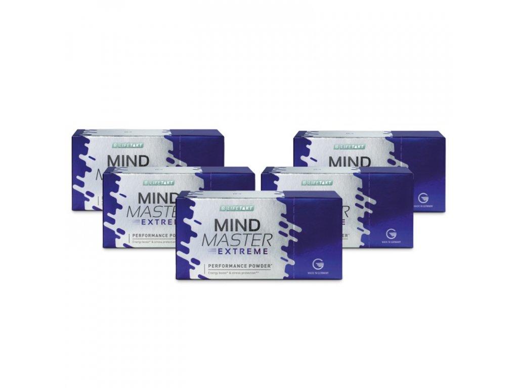 LR LIFETAKT Mind Master Extreme Performance Powder Séria 5 x 35 g / 14 sáčkov po 2,5 g