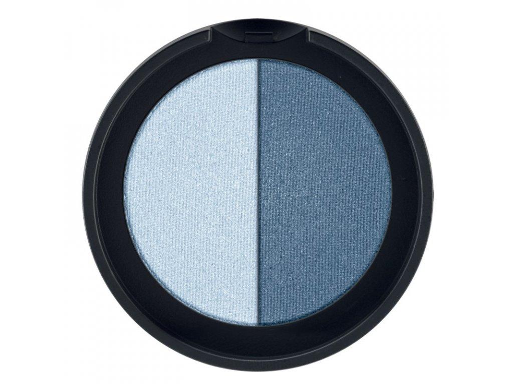 LR Colours Minerálne očné tiene Duo (odtieň Sky & Water) 2 x 1,25 g